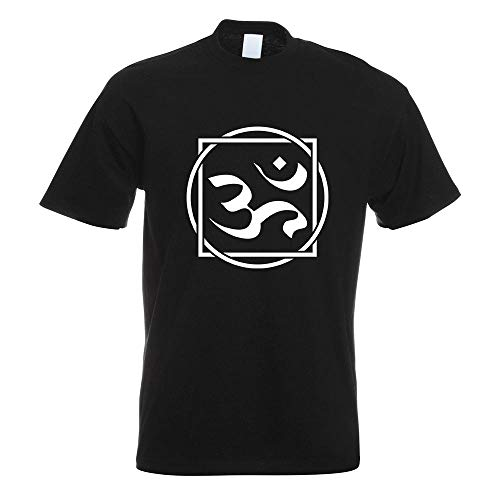 Om Zeichen T-Shirt Motiv Bedruckt Funshirt Design Print