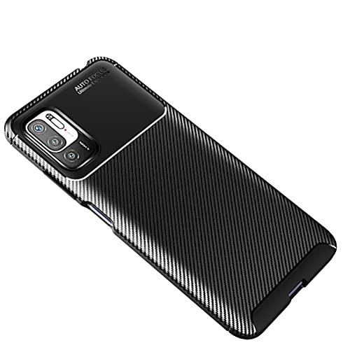 XINNI Custodia per Xiaomi Redmi Note 10 5G|Poco M3 PRO 5G/4G Cover, Morbida TPU Antiurto Protezione Telefono Cellulare Case, Nero