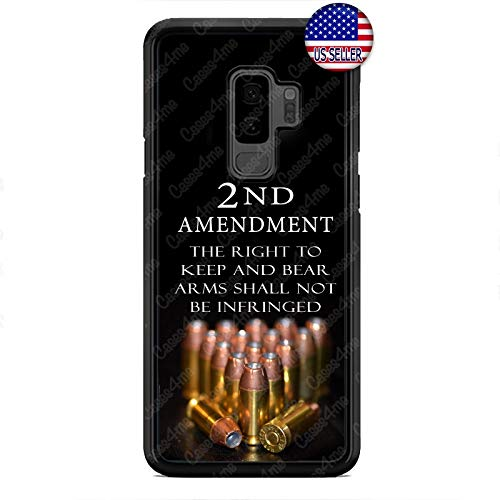 Case Lock LTD -New Bullets 2nd Amendment Guns Case Cover for Samsung Galaxy S9