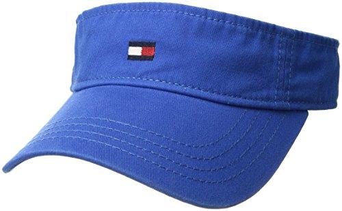 Preisvergleich Produktbild Tommy Hilfiger Herren Dad Hat Flag Solid Cotton Visor Baseball Cap,  Nautical Blue