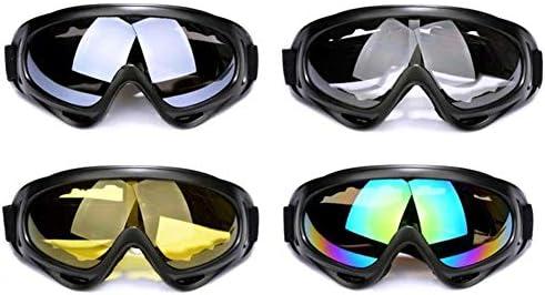 Hovico 4Pcs Ski Goggle Motorcycle Goggles Snowboard Goggles Riding Offroad Protective Combat product image