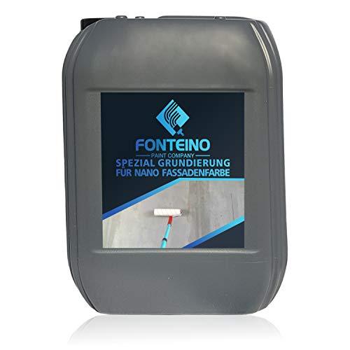 Spezial Grundierung für Nano Fassadenfarbe Tiefgrund Haftgrund Tiefengrund Fassadengrundierung 10L