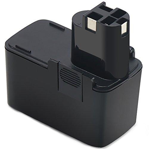POWERAXIS für Bosch Akku 12V 2,2Ah Ni-MH Ersatzakku für BOSCH BAT011, 2607335055, 2607335071, 3300K, BH1214H, BH1214L, BH1214MH, BH1214N, PSB 12VSP-2,PSR 120,PSR 12VES-2