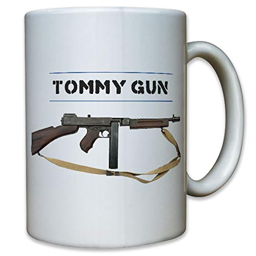 Tommy Gun Escopeta Rifle eléctrica pistola WK 1WK 2WW II Estados Unidos–Taza...