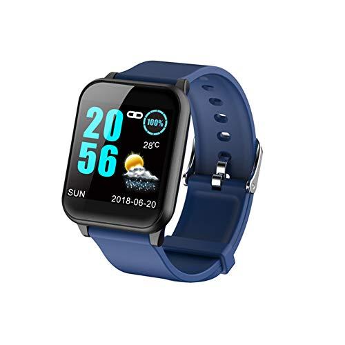 WangXN Fitnesstracker IP67, waterdicht, groot kleurenbeeldscherm, activiteitentracker, zwemmen, bloeddrukmeter voor kinderen, mannen en vrouwen