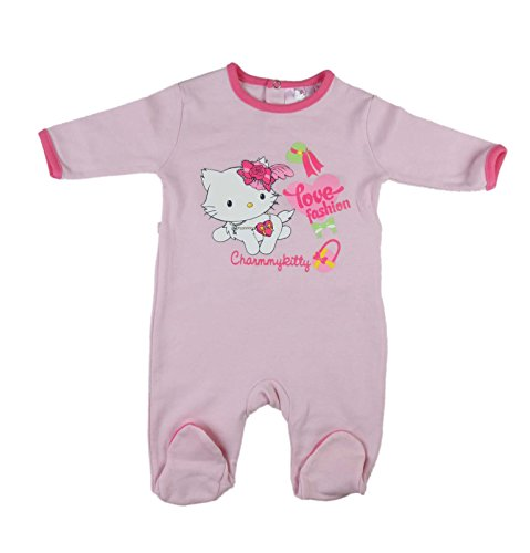 Sanrio Charmmy Kitty - grenouillère Pur Coton - bébé Fille - Rose