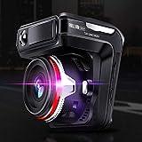 Dashcam Autokamera, Hd-nachtsicht, Doppelaufnahme Vorn Und Hinten, 1080p Hd, 24-st&en-Überwachung, Schleifenaufnahme, Bewegungserkennung, Schwerkraftmessung