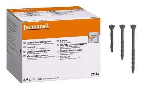 Fermacell Schnellbauschraube 3,9 x 19mm 1000 Stück