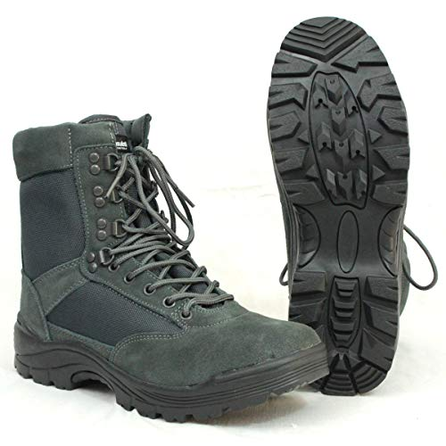 Mil-Tec Tactical Boots m. YKK Zipper urban Grey Gr.11/ EU44