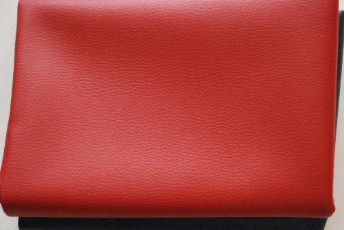 Sitzbankbezug für viele Bikes, rot fein R1, Maße 100 x 70 cm mit Montageanleitung