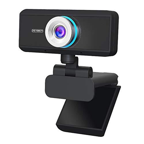 Nicoone USB 2. 0 1080P Cámara Web PC Portátil Plug- n Play Webcam con micrófono para transmisión en vivo Teleconferencing