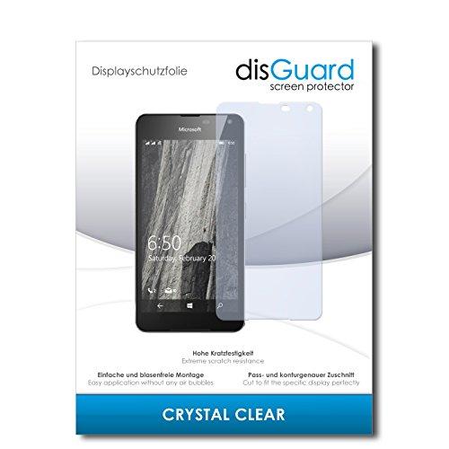 disGuard Bildschirmschutzfolie für Microsoft Lumia 650 [2 Stück] Crystal Clear, Kristall-klar, Unsichtbar, Extrem Kratzfest - Bildschirmschutz, Schutzfolie, Glasfolie, Panzerfolie