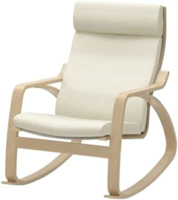 the best attitude 7e892 3a66c Amazon.com: Ikea Poang Rocking Chair Medium Brown with ...