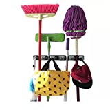 CHAMP GRIP. Strongest Grippers Mop Broom Holders with 5 Ball Slots and...