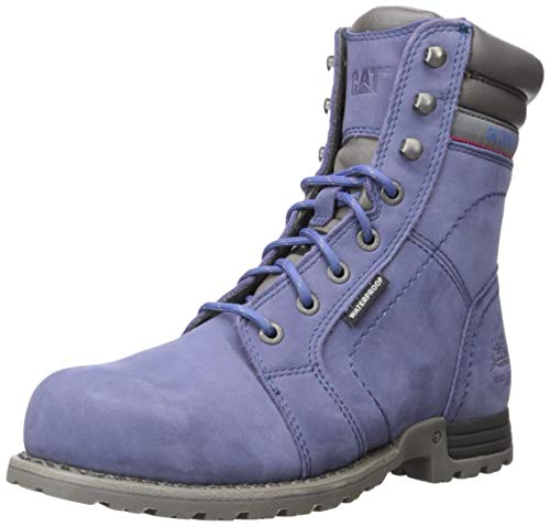 Caterpillar Women's Echo Waterproof Steel Toe Work Boot, Marlin, 8 M...