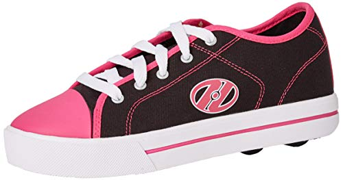 Heelys Mädchen Classic Sneaker, Schwarz (Black/White/Hot Pink Black/White/Hot Pink), 35 EU