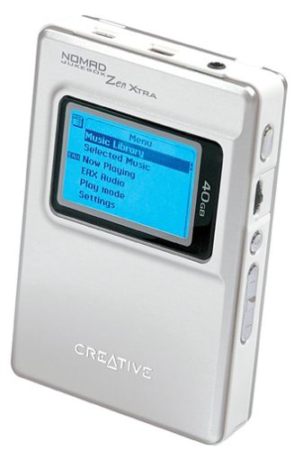 CREATIVE LABS Nomad Jukebox Zen Xtra 40GB Digital Audio Player