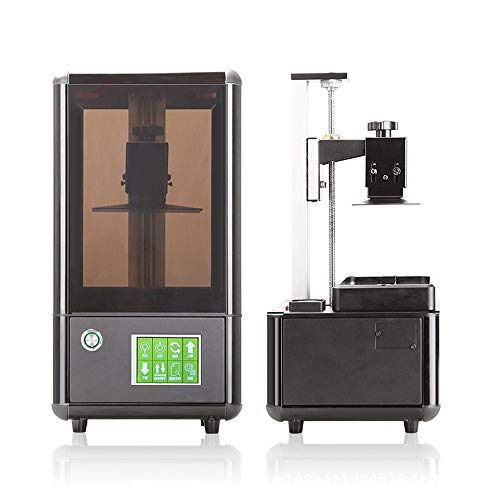L.J.JZDY 3D Printer LCD 3D Printers Assembled 3d Printer With Spares Large 3d Resin Printer Kit USB Port Big Printing Size Box