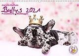 Bullys - Französische Bulldoggen 2021 (Wandkalender 2021 DIN A3 quer)