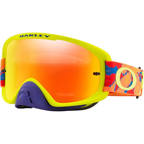 Oakley Mx Brille O-Frame 2.0 Thermo Camo Bog-Fire Iridium (One Size , Schwarz)