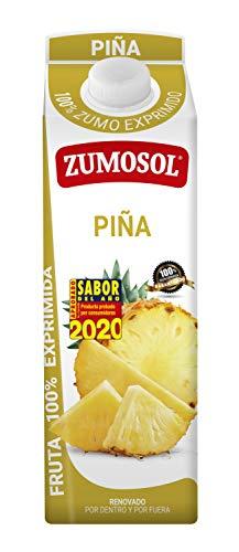 Zumosol Zumo Exprimido 100% De 1L, Piña, 1000 Mililitro