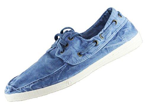 Sneaker NATURAL WORLD NAUTICO ENZIMAT 41 Celeste Herren