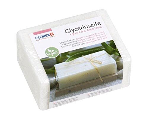 Glorex 6 1600 - glycerinezeep eco transparant met aloë vera 500 g Opak