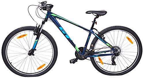 GT 728107M20XS Bicicleta, Unisex Adulto, Azul, XS