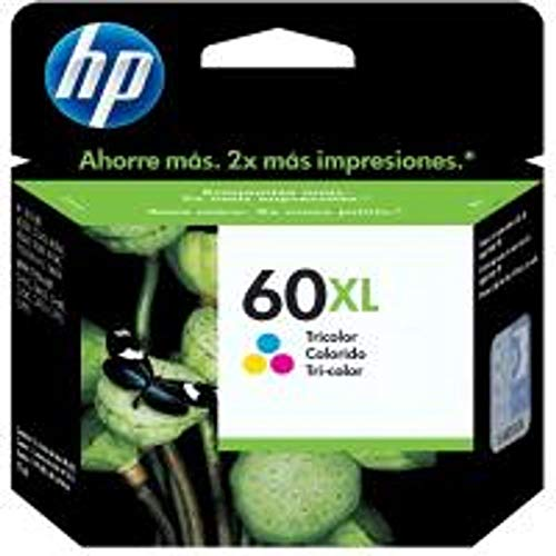Cartucho HP 60XL Colorido Original (CC644WB)