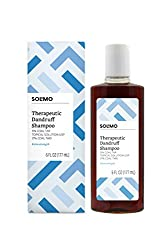 top 10 coal tar shampoo Amazon Brand – Solimo Therapeutic Anti-Dandruff Shampoo, Extra Strong, 6 fl oz