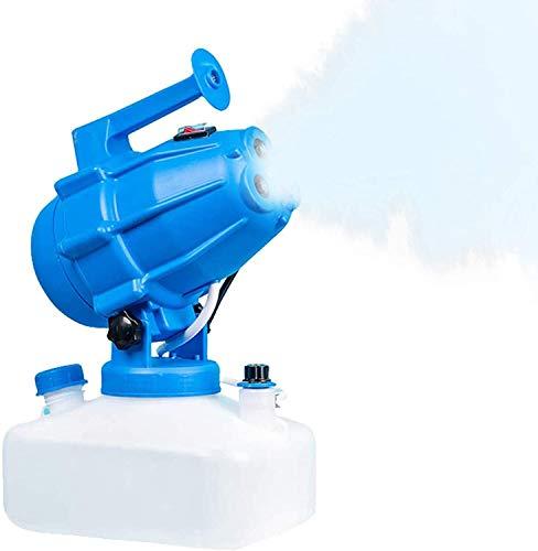 TOPQSC Spruzzatore Elettrico ULV 5L, atomizzatore Portatile a Macchina per nebulizzazione Fredda 1200W Cavo di Alimentazione 5M Distanza di spruzzo 8M (Stile 3)