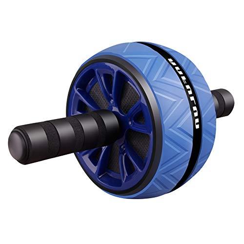 N Rueda Abdominal AB Roller, Antideslizante, sin Ruido, Gimnasio, Entrenamiento físico (Azul)