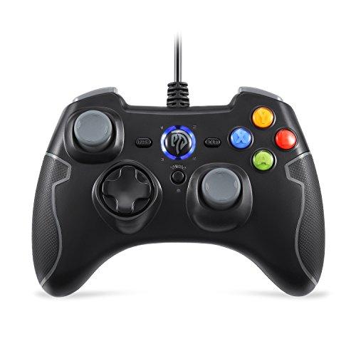 REDSTORM Controller Joystick per Giochi Nero, Controller con Cavo, PS3 joystick, Controller di Gioco per PS3 ,Wired Gamepad Controller, per Windows / Android / PS3 / Box TV/ Vista