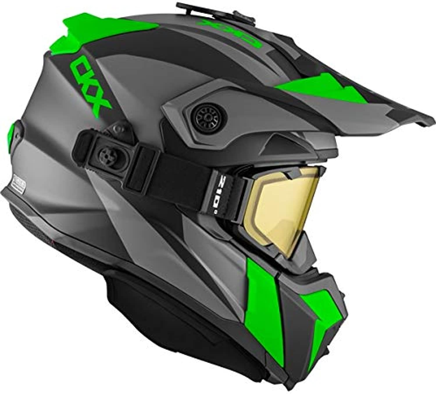 CKX Titan Backcountry Helmet, Winter Sidehill  Included 210° Goggles Part  508367