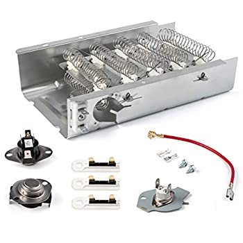 279838 Dryer Heating Element 3403585 8565582 W10724237 Thermal Fuse 3392519 3977393 Thermostat 3387134 3390291 Dryer Parts for Kenmore Maytag Amana Whirlpool Roper KitchenAid Admiral Dryer