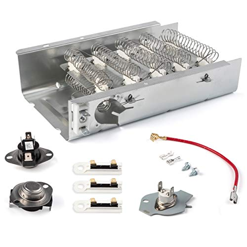 279838 Dryer Heating Element 3403585 8565582 W10724237 Thermal Fuse 3392519 3977393 Thermostat 3387134 3390291 Dryer Parts for Kenmore, Maytag, Amana, Whirlpool, Roper, KitchenAid, Admiral Dryer