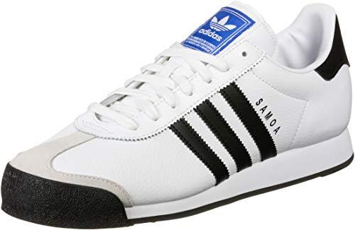 Zapatillas de Hombre ADIDAS Samoa Piel Blanco 40 2 3 Blanco