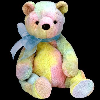 Ty Beanie Babies - Mellow the Bear