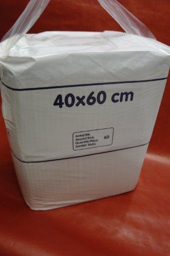 Coprimaterasso 60x 40cm standard, confezione da 60