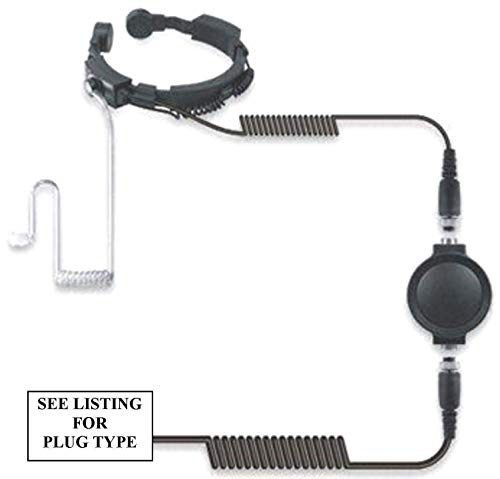 Motorola Resistente Garganta Micrófono con Pinganillo - For T80 Extreme Etc