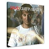 David Guetta's Album Cover – Guetta Blaster Leinwand