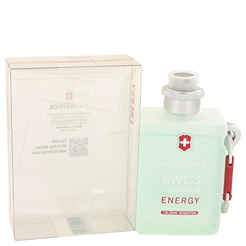 Victorinox Swiss Army Unlimited Energy 150ml/5.oz Men Cologne Sensation Spray