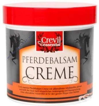 Pferdebalsam Creme 250ml - kühlend und erfrischend von Crevil