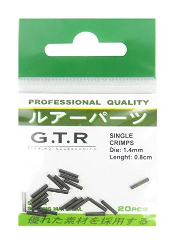 G.T.R Quetschhülsen für Stahlvorfach 1,93 mm Durchmesser 12 kg