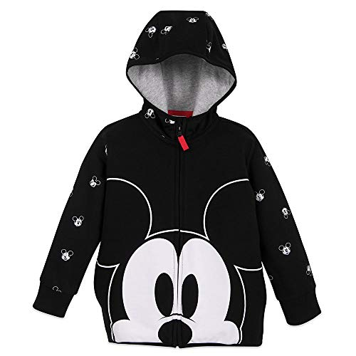 Disney Mickey Mouse Zip-Up Hoodie for Kids - Size 5/6 Multi