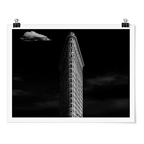 Bilderwelten Poster - Flatiron Building - Apaisado 3:4 Mate 45 x 60cm