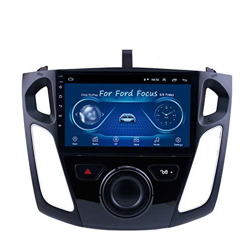 JIBO para Ford Focus Android Autoradio Navegacion GPS Unidad Principal Tocar Pantalla Auto Estéreo Multimedia Jugador WiFi FM/Am Bluetooth Entrada Cámara Visión Trasera Video Receptor