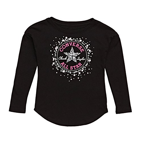 Converse 6847s-023 T-Shirt, Mädchen M weiß