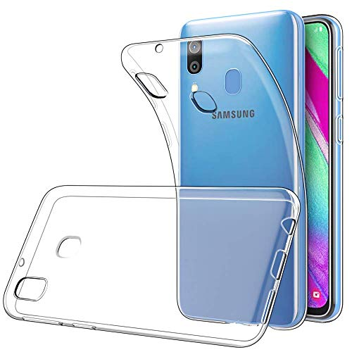 CoverKingz Schutzhülle Handyhülle für Samsung Galaxy A40 Handy Hülle, Slim Handy Case, Silikon Cover Transparent