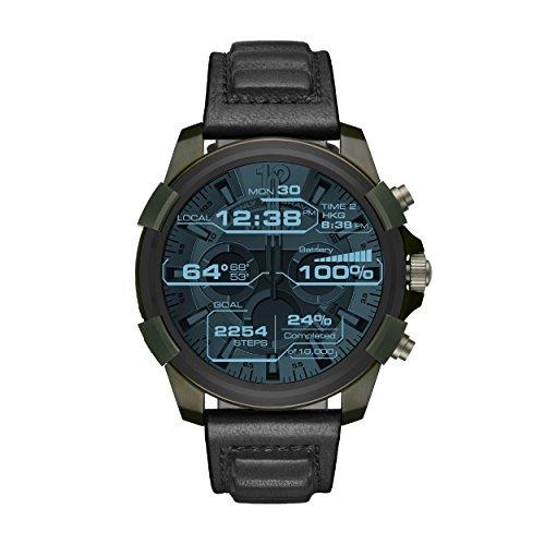 Diesel Reloj Hombre de Digital con Correa en Cuero DZT2003